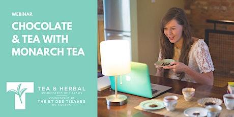 Chocolate & Tea with Monarch Tea tickets