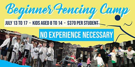 Beginner's Fencing Camp - Swordplay LA Fencing School tickets