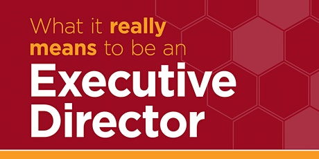 What It Really Means to Be an Executive Director tickets