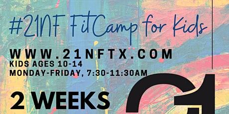 #21NF FitCamp for Kids tickets