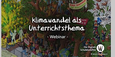 (Digitale) Unterrichtseinheit zu Klimawandel und Flucht Tickets