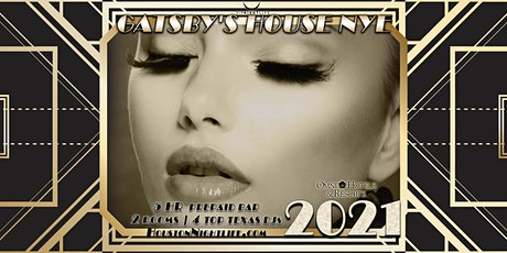 Gatsby's House - Houston New Year's Eve 2021 tickets