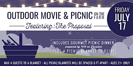 Outdoor Movie & Picnic on The Farm tickets