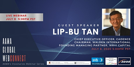 [WEBINAR] A Conversation with Lip-Bu Tan, CEO of Cadence Design Systems tickets