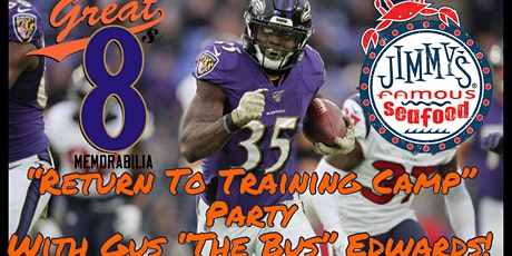 """""""Return To Training Camp"""" Kickoff Party with Baltimore Raven Gus Edwards tickets"""