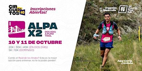 Alpa X2 tickets