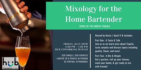 Mixology for the Home Bartender tickets