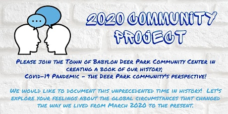 2020 Community Project tickets