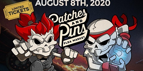 "Patches & Pins Flea Market ""Street Fighter"" Edition tickets"