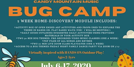 Copy of BUG Camp Registration- Candy Mountain Music ***(WHITLEY County)*** tickets