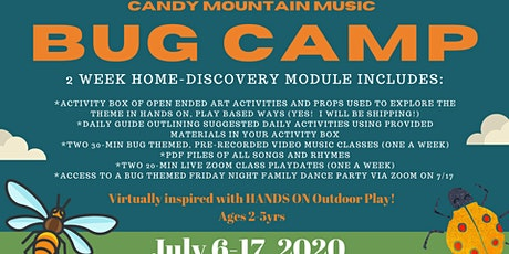 Copy of BUG Camp Registration- Candy Mountain Music ***(LAUREL County)*** tickets