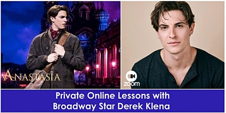 Private Online Lessons with Broadway Star, Derek Klena tickets