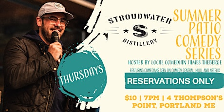 Stroudwater Summer Patio Comedy Series tickets