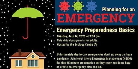 Emergency Preparedness Basics tickets