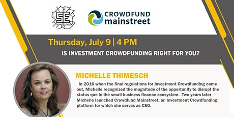 Is Investment Crowdfunding Right for You biglietti