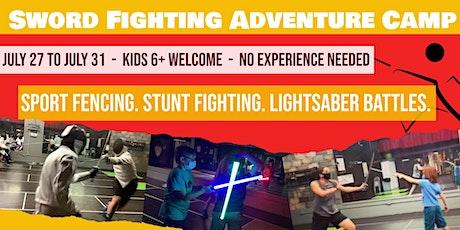 Sword Fighting Adventure Camp - Swordplay LA Fencing School tickets