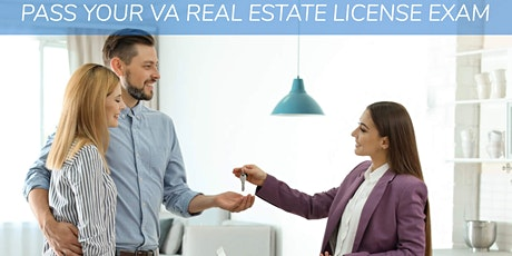 Get your VA Real Estate License! tickets