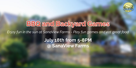 Summertime BBQ and Backyard Games tickets