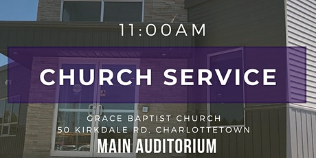 11:00AM Church Service tickets
