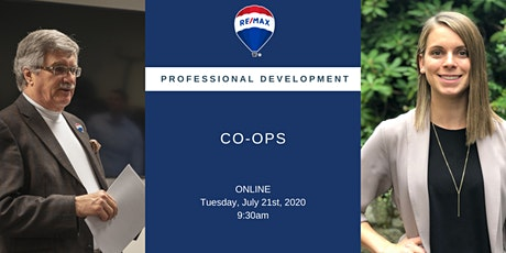 Professional Development: CO-OPS tickets