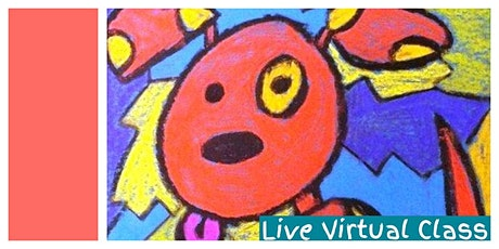 How to Draw Cartoons (5-12 Years) - Weekly LIVE VIRTUAL CLASS! tickets