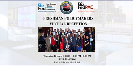 BizFed Freshman Policymakers Virtual Reception, 2020 tickets