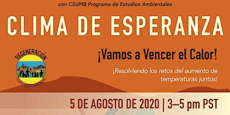 Clima de Esperanza tickets