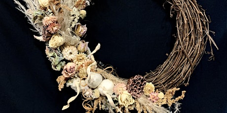 Social Distancing Garlic Wreath Class! tickets