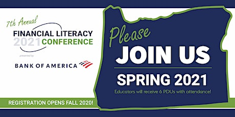 2020 FINANCIAL LITERACY CONFERENCE tickets