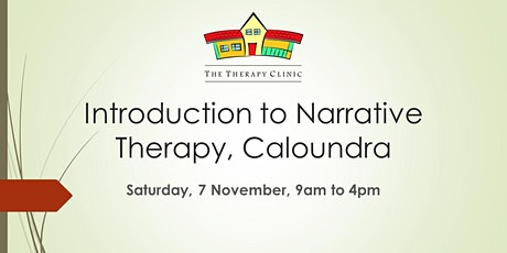 Introduction to Narrative Therapy, Caloundra tickets