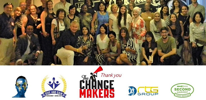 Game Changers - The Social Impact Revolution. ONLINE Speed Networking image