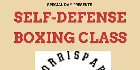 Self-Defense Boxing Class tickets