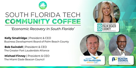 Community Coffee☕| 'Economic Recovery In South Florida' tickets