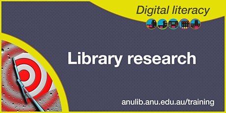 Library research webinar tickets