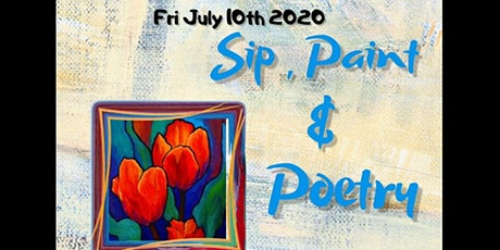 Sip, Paint & Poetry tickets