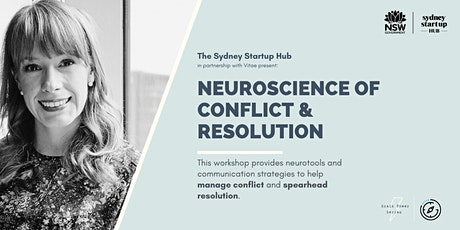 The Brain Power Series: The Neuroscience of Conflict & Resolution tickets