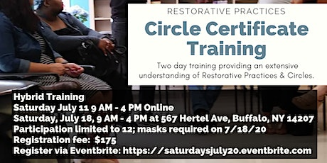 Circle Certificate Training tickets