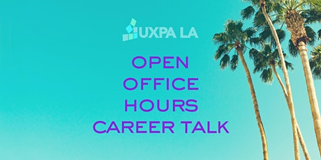 UXPALA Open Office Hours - Career Talk tickets
