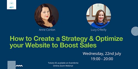 How to Create a Strategy & Optimize your Website to Boost Sales tickets