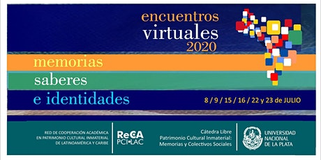 13ro. Encuentro virtual | Memorias, Saberes e Identidades. boletos