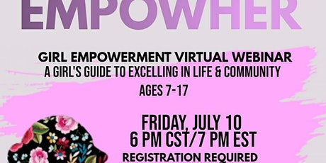 EmpowHER A Virtual Conference for Girls tickets