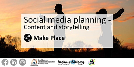 Social media planning - content and storytelling tickets