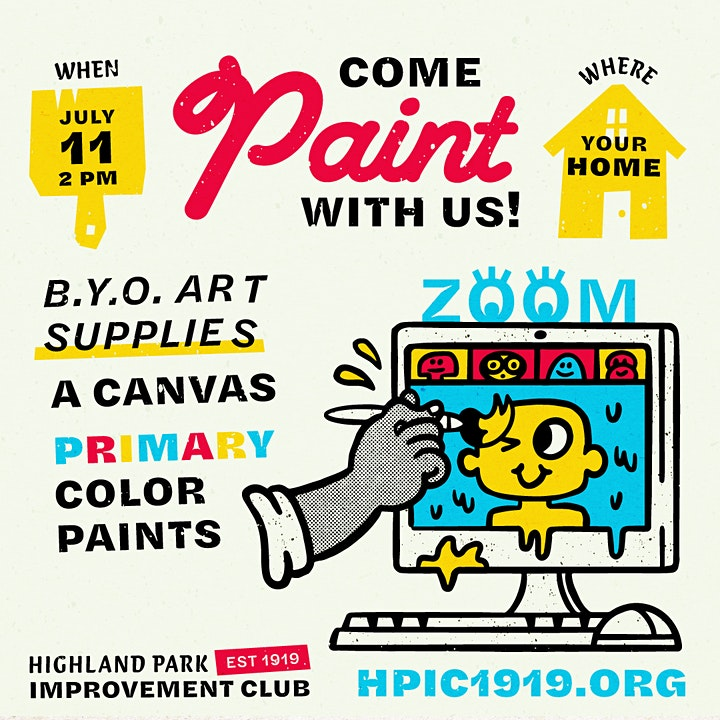 Come paint with us! image