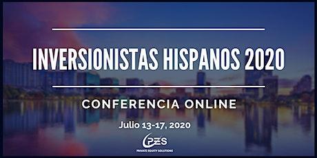 INVERSIONISTAS HISPANOS 2020 ONLINE - Conferencia internacional entradas