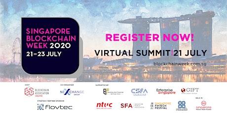 Singapore Blockchain Week Virtual Summit 2020 Tickets