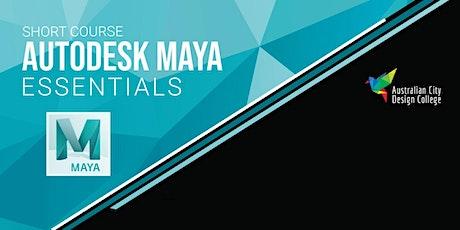 Autodesk Maya 2020 Essentials tickets