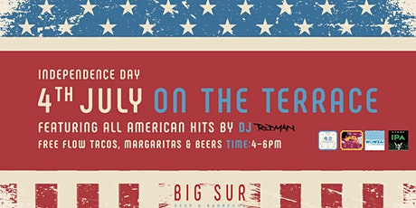4th July On The Terrace tickets