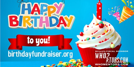 Host a Birthday Fundraiser for Charity tickets