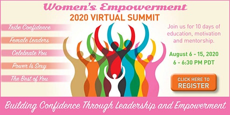 "Women's Empowerment Summit 2020 - ""Ignite Your Confidence"" tickets"