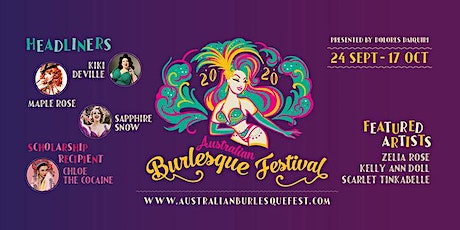 The Australian Burlesque Festival 2020 - Brisbane Workshops tickets